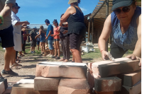"""Primer curso de cerámica """"Quehacer cerámico"""", en el PTI."""