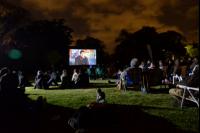 Cine en el Jardín Botánico