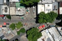 Espacio peatonal Arenal Grande