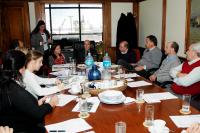 Intendente reunido con representantes de países nórdicos