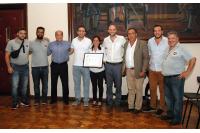 Entrega de certificado ISO a CECOED