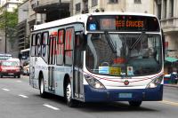 Ómnibus en Avenida 18 de julio