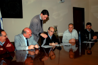 Firma de Compromisos de Gestión con los Municipios de Montevideo