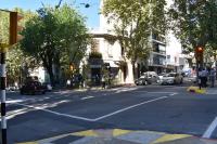 Semáforos en Canelones y Juan Paullier