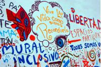 Plaza inclusiva para discapacidad visual