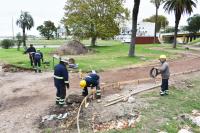 Epacios Publicos Obras en Parque Capurro
