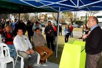 Inauguracion circuito aerobico Parque Batlle