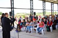 Firma de Convenio con MVOTMA por Proyecto Ribera del Miguelete