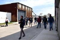 Recorrida en el Parque Tecnológico Industrial del Cerro