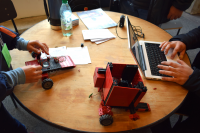 Encuentro de robótica