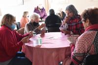 Actividades presenciales para personas mayores en el Centro Diurno número 8
