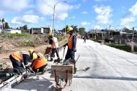 Obras en calle Susana Pintos