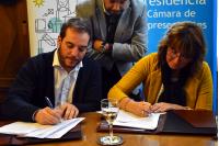 Firma Convenio Parlamento de Niñas Niños y Adolescentes