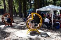 Inauguración de obras en parque Rivera