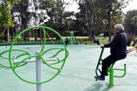 Móviles saludables en Parque Rivera