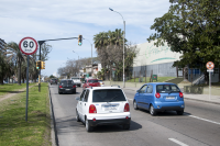 Señalización en Avenida Italia
