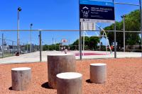 Inauguracion de obras en plaza Porvenir