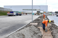 Obras en avenida Jacobo Varela