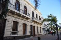 Refacción de fachadas en calle Pérez Castellano