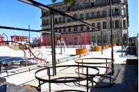Obras en Plaza 1 Ciudad Vieja