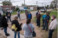 Comienzo de obras en barrio Maracaná Norte en el marco del Plan ABC