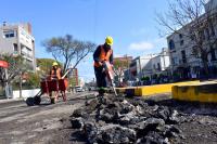 Montevideo Mejora Vialidad Obras en Bulevar España y Luis de la Torre