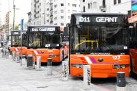 COMESA presenta floja de ómnibus con aire acondicionado