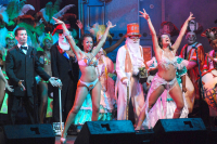 Comparsa C1080 en Concurso Oficial de Agrupaciones Carnavalescas en el Teatro de Verano