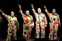 Murga La Gran Siete en Concurso Oficial de Agrupaciones Carnavalescas en el Teatro de Verano