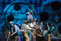 Parodistas en Concurso Oficial de Agrupaciones Carnavalescas en el Teatro de Verano