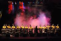 Murga Agarrate Catalina en Concurso Oficial de Agrupaciones Carnavalescas en el Teatro de Verano