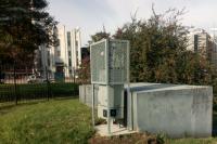 Estación de monitoreo de calidad del aire