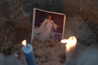 Celebracion de Imenaja en la playa Ramirez