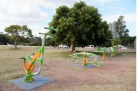 Juegos saludables en Punta Carretas