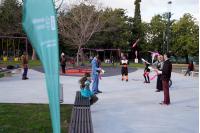 Inauguracion de reformas en el Parque Villa Biarritz