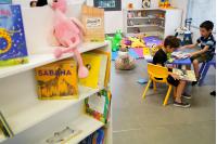 Reinauguración de Biblioteca infantil en Castillo del Parque Rodó