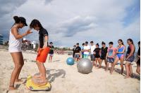 Escuela de Mar en la Playa honda