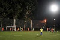Inauguracion de canchas de cesped sintetico en Parque Lavalleja.