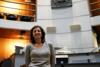 Adriana Barros, presidenta de la Junta Departamental de Montevideo.