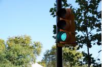 Inauguracion de semaforos en Agraciada y Aguilar