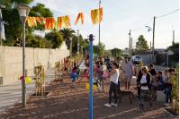 Inauguracion de obras en el barrio El Tanque, Villa Prosperidad