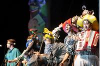 Humoristas Sociedad Anonima en el Teatro de Verano, primera rueda del Concurso Oficial de Carnaval 2019.