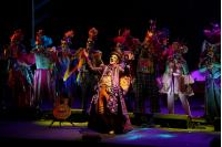 Murga Agarrate Catalina en el Teatro de Verano, primera rueda del Concurso Oficial de Carnaval 2019.