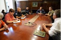 Reunión del comité departamental de emergencia