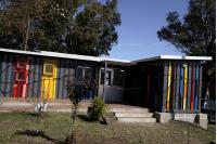 Inauguración de biblioteca infantil en la Quinta de Batlle