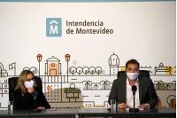 Conferencia de prensa de Christian Di Candia y Silvana Pissano