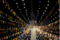 Iluminación de Carnaval