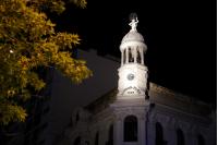 Intervención lumínica por campaña «Cuidarnos para volver»