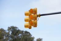 Inauguración de semáforos en Av.Ricaldoni y Av.Dr. Luis Morquio