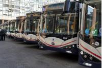 Presentación de nuevos ómnibus eléctricos